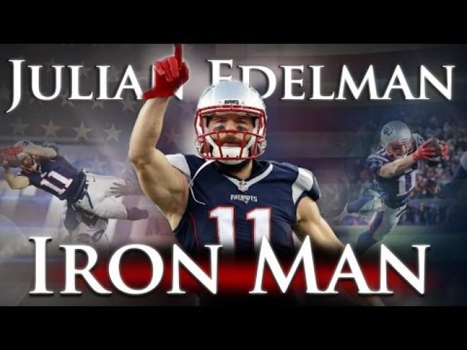 Julian Edelman - Ironman 11-es mezszámmal