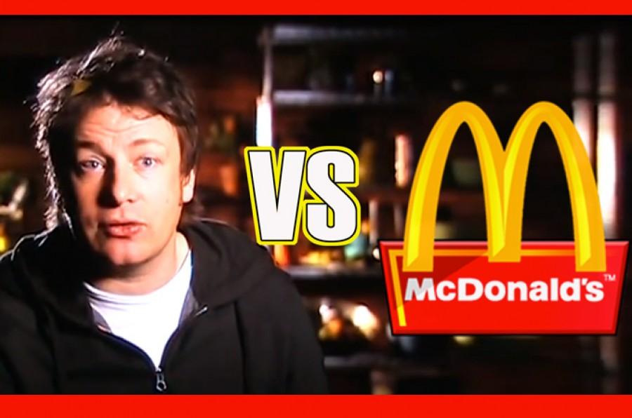 Jamie Oliver contra McDonald's