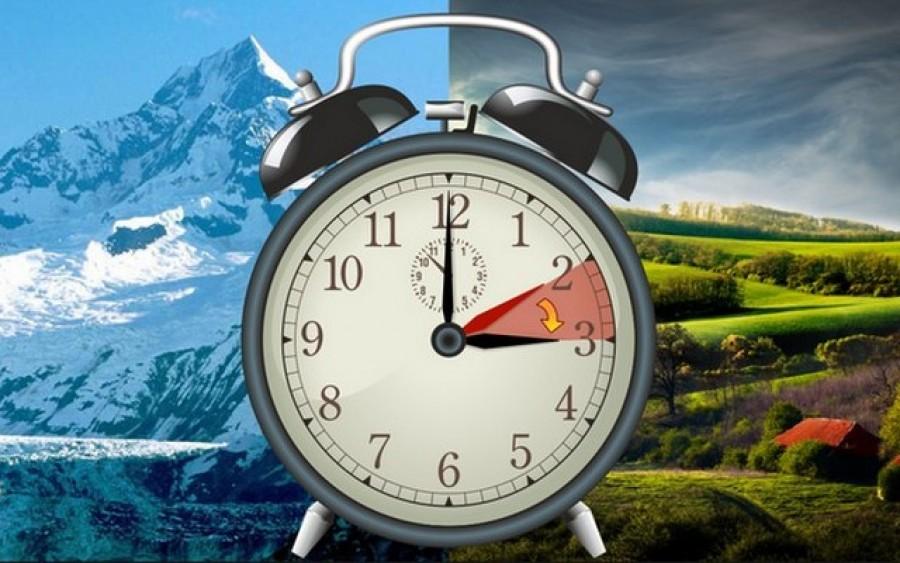 FIGYELEM! Ne felejtsd el az órát átállítani!