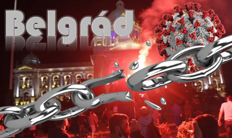 Célt ért a belgrádi tüntetés