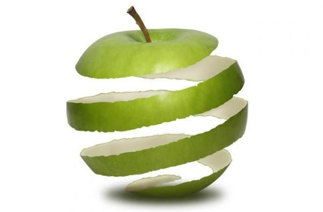 Az alma héja kincset rejt!